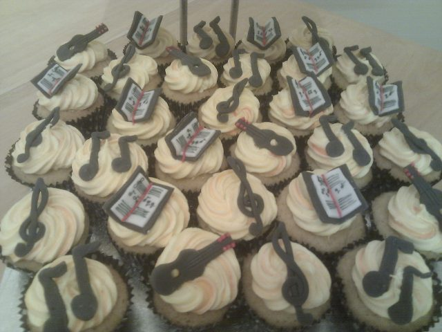 Musical Cup cakes